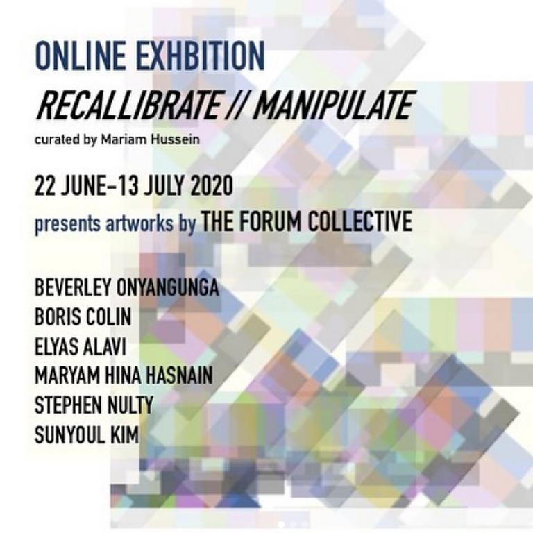 Recalibrate // Manipulate