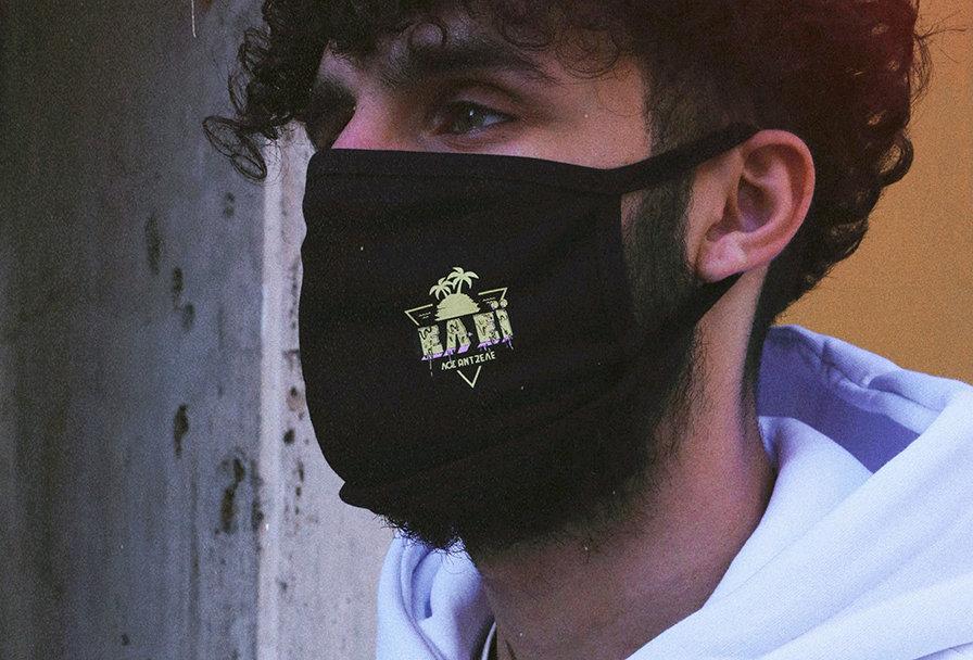 Fabric Mask Black