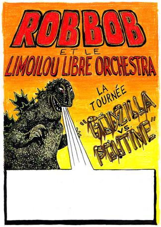 Godzilla Vs. Poutine poster