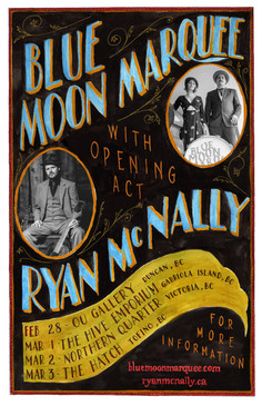 Poster for Blue Moon Marquee/Ryan McNally