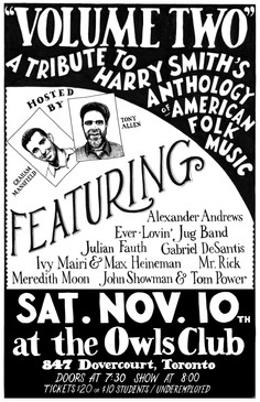 Harry Smith show poster