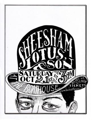 Sheesham, Lotus & 'Son poster