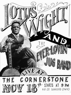 Poster - Lotus Wight & Ever-Lovin' Jug Band
