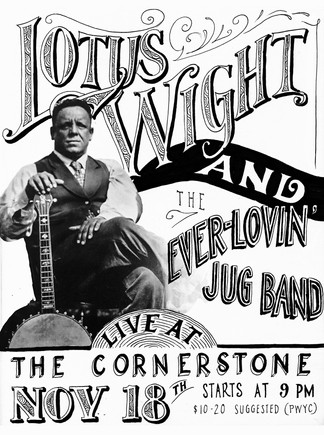 Poster - Lotus Wight & Ever-Lovin' Jug Band