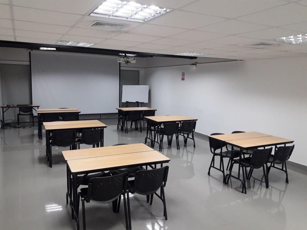 sala de conferencia