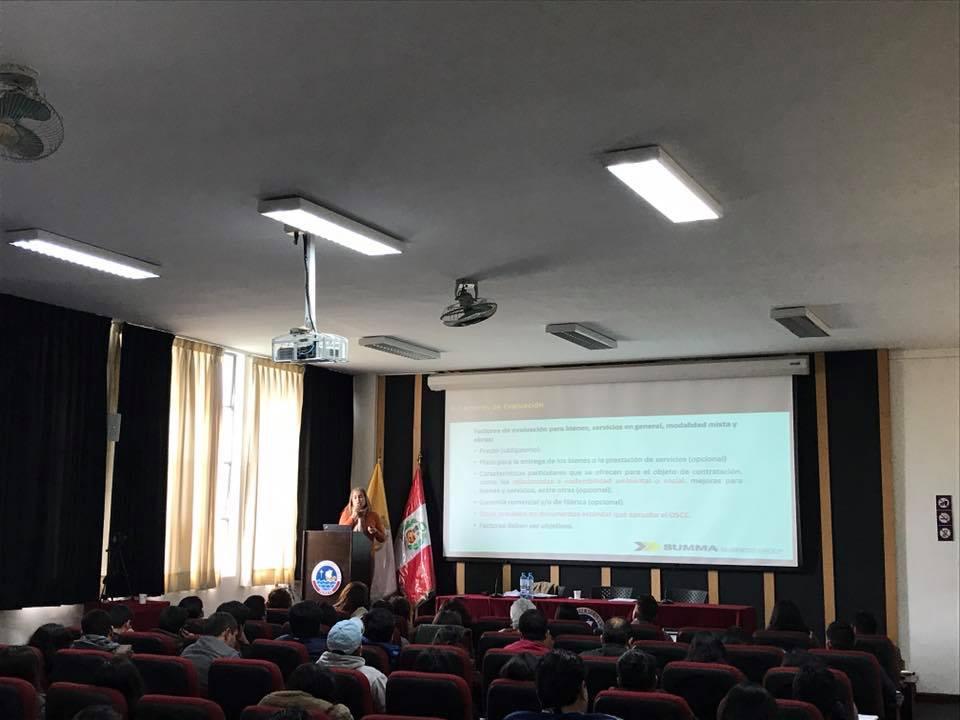 seminario como contratar con el estado