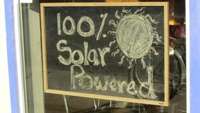 Go Solar for a Sustainable World
