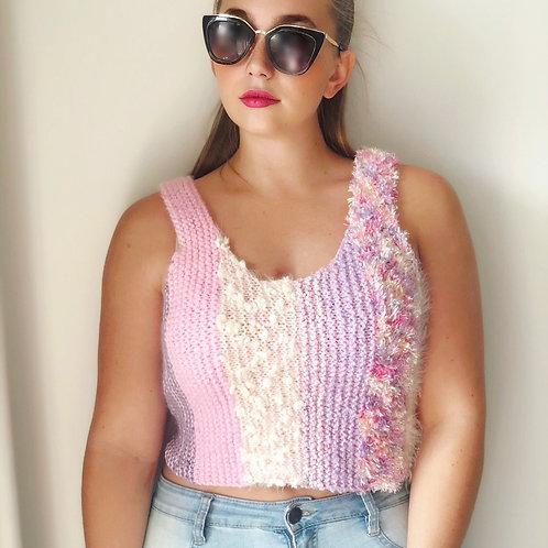 Pink Pastel Textured Top