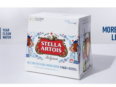 """Stella Artois and Water.org Team Up to Encourage Beer Lovers to """"Make Your Super Bowl Party Mat"""