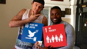 Global Goals Australia Interviews Crisis Mr. Swagger