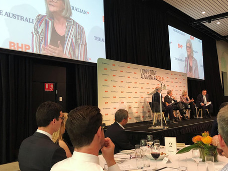 Blog: The Australian's Competitive Advantage Forum