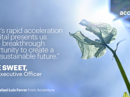 Accenture Sets Industry-Leading Net-Zero, Waste and Water Goals