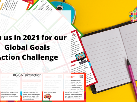 Global Goals Australia Launches Sign-Up for 2021 Action Challenge