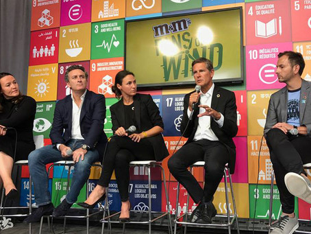 Mars Takes to New York in Support of the UN's Sustainable Development Goals