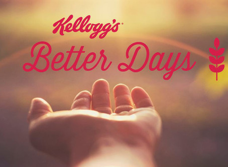 Kellogg Company Unveils Ambitious Next-Generation Kellogg's® Better Days Global Commitment