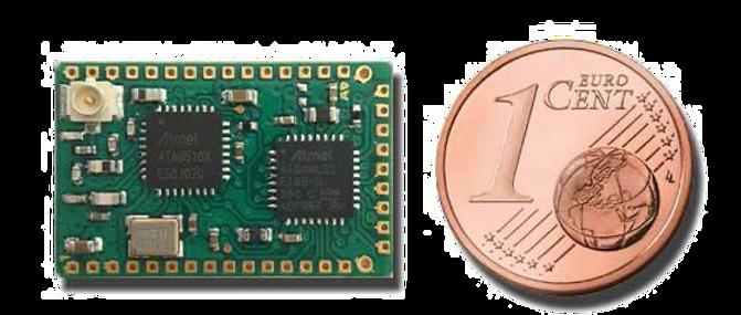 ISM 868 MHz radio module
