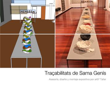 Exposición Traçabilitats, Sama Genis