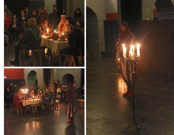 Attrezzo: candelabro medieval