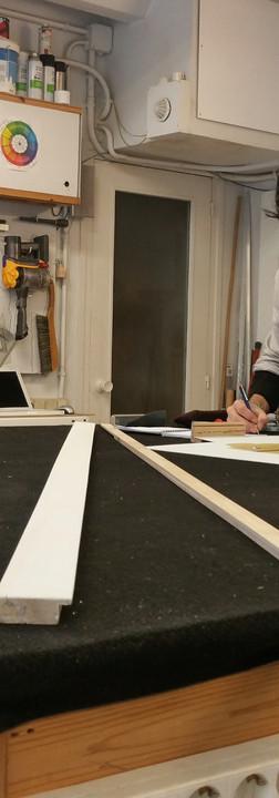 El Taller-taller on faig els marcs