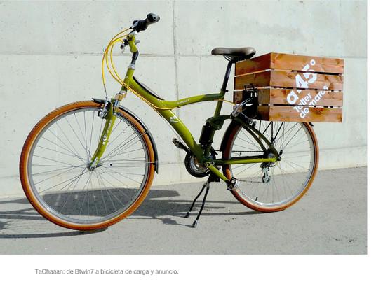 La bici de a45º Taller de marcos