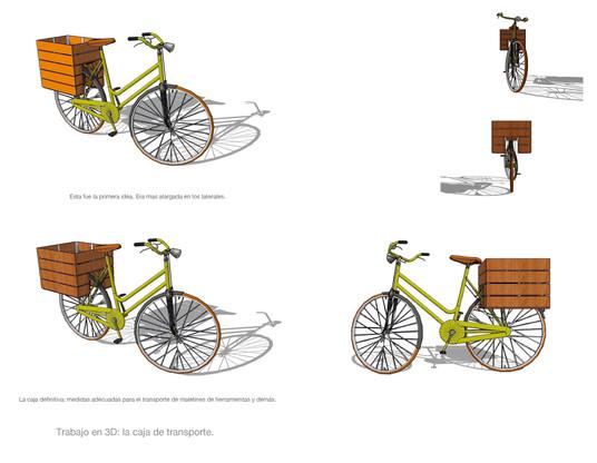 Cargo Bike para a45º Taller de marcos