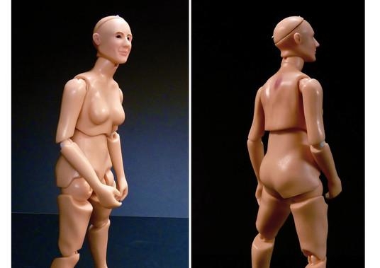 Desarrollo de una muñeca articulada en resina