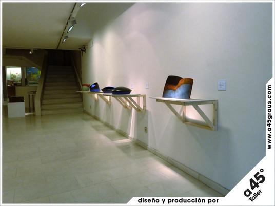 Disseny i muntatge de l'exposició de Carme Collell i Pep Madrenas