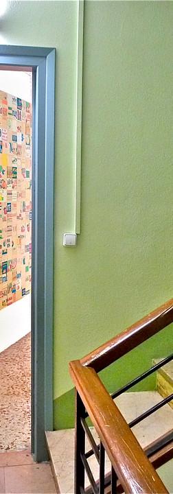 La porta d'entrada a a45º Taller de marcs