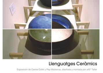 Exposición Llenguatges Ceràmics