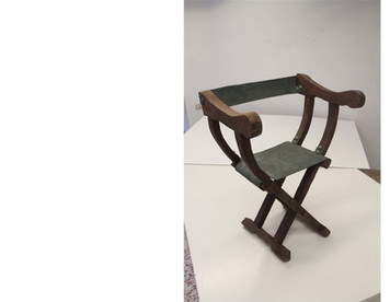 Attrezzo: silla para un rey