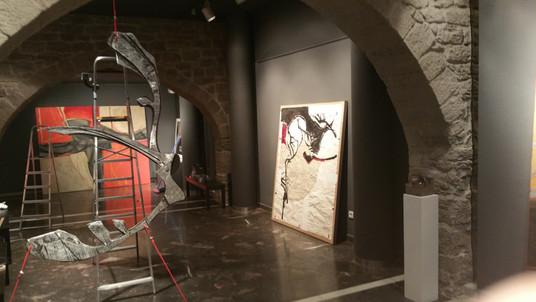 Exposició Vernis a la sala la Plana de l'Om