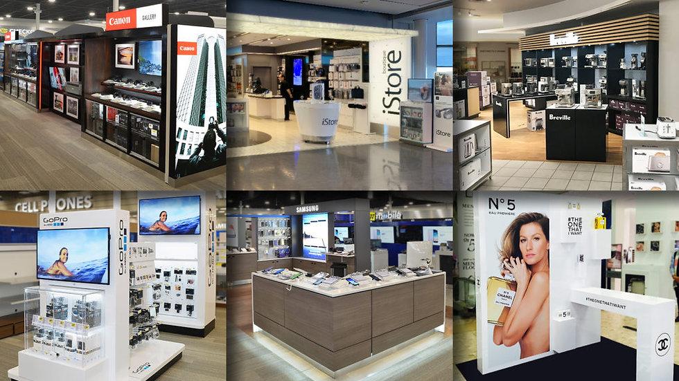 Shop-In-Shop Fixtures