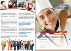 A3 Folded brochure