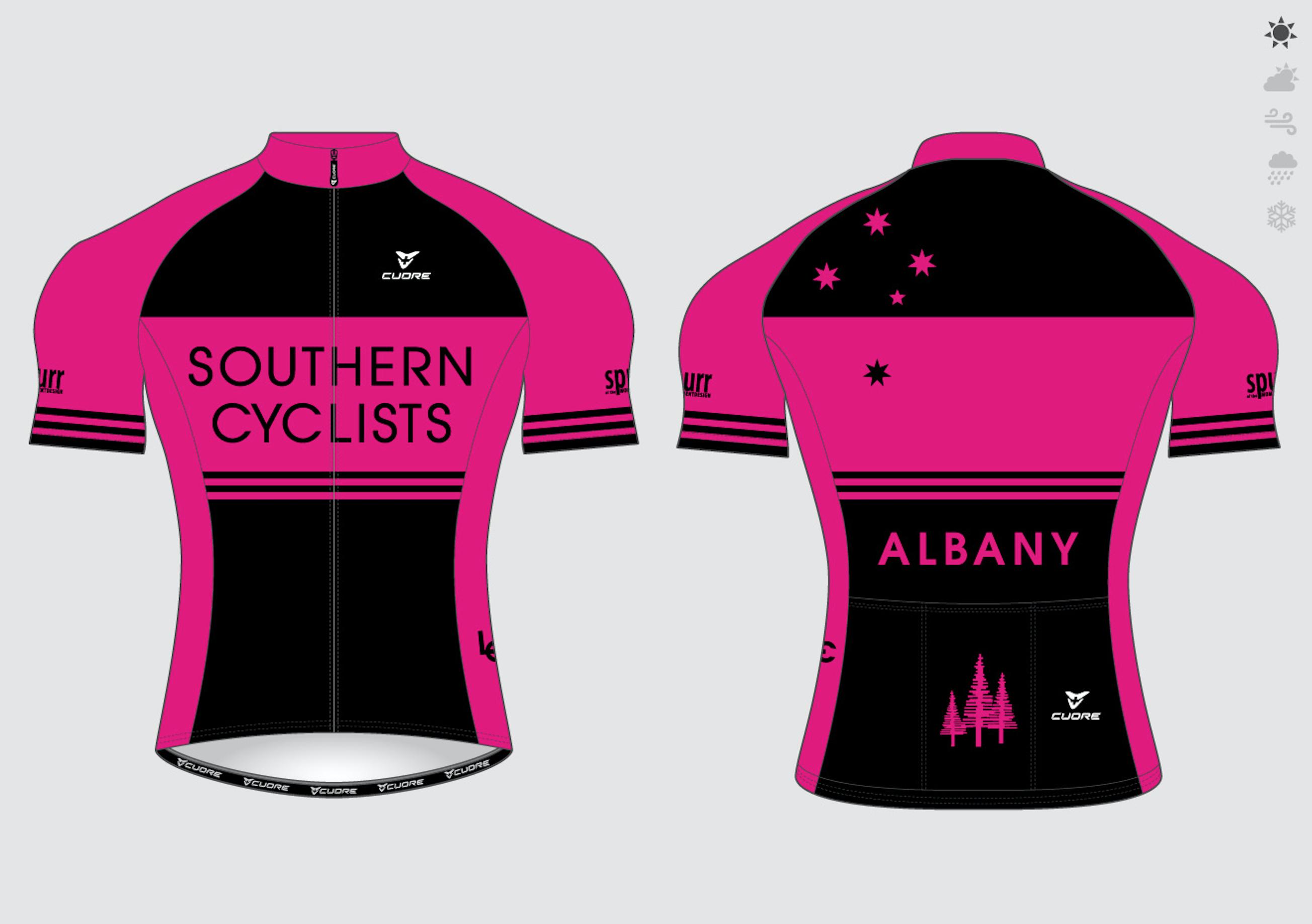 Cycling jersey Magenta