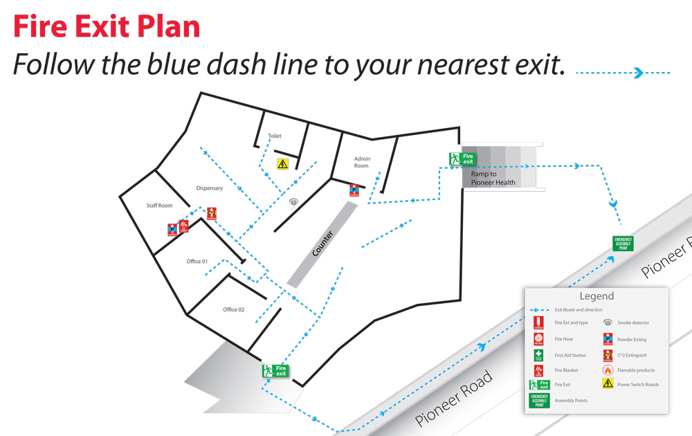 Building Evacuation Plan