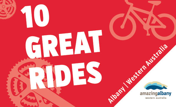 10 Great Rides map