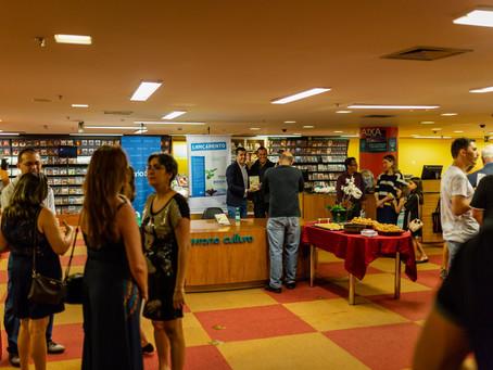 Fotos do lançamento do livro Empreendedorismo Social e Políticas Públicas na Educação
