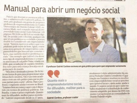 Matéria no Correio Braziliense: Manual para Abrir um Negócio Social