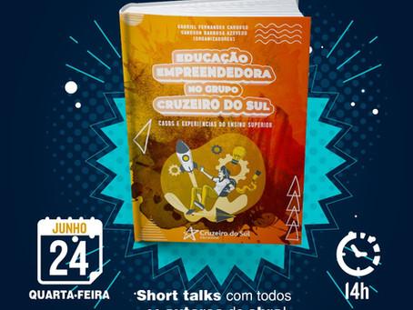 Lançamento do livro Educação Empreendedora no Grupo Cruzeiro do Sul