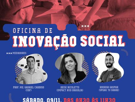Oficina de inovação social em Brasília