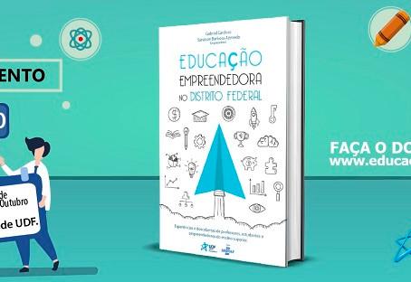 Educação Empreendedora no DF: lançamento de nosso novo livro!