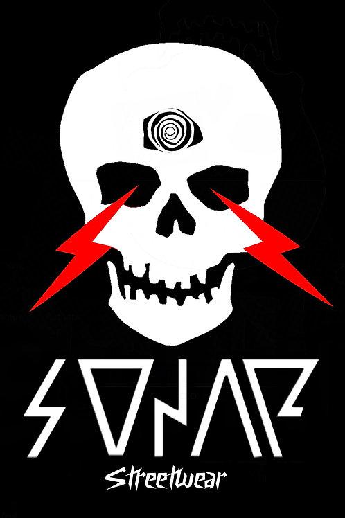 SONAR Streetwear Skull Poster