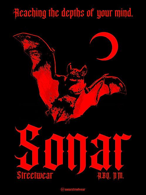 SONAR Streetwear Logo Poster (Red)