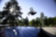 fly bag, miękka pompowana poduszka, do nauki powietrznych ewolucji
