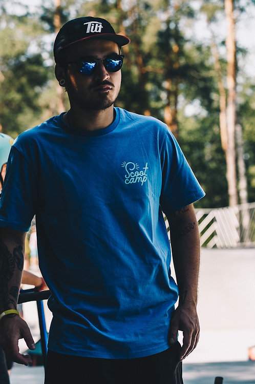 T-shirt SCOOTCAMP thumb blue