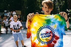farbowanie koszulek obozowych