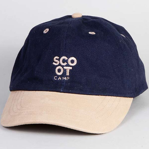 czapka SCOOTCAMP baseball navy