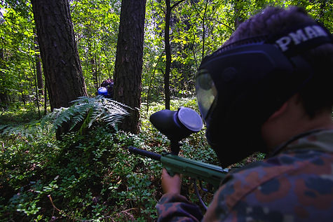po hulajnodze paintball