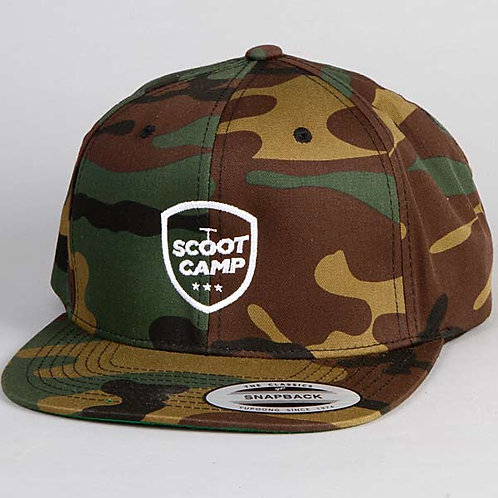 czapka SCOOTCAMP KAMO 6-cio panelowa