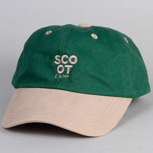 czapka SCOOTCAMP baseball green